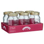 Kilner - Genuine Preserve Jar Set  500ml 6pce