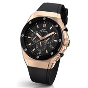 TW Steel - CEO Tech Chrono Rose Gold/Black Silver 44mm