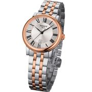 Tissot - Carson Premium Lady Rose Gold and Silver Watch 30mm