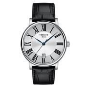 Tissot -T-Classic Carson Premium Watch Black Lthr. Band 40mm
