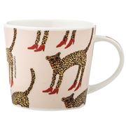 Bouffants & Broken Hearts - Love & Lipstick Glam Cheetah Mug