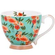 Bouffants & Broken Heart - Jungle Queen Flamingo Jumbo Mug