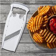 Borner - Wave-Waffle Cutter Powerline White