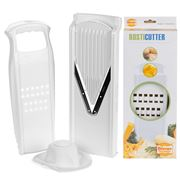 Borner - V3 Slicer with Food Holder & Rosti Cutter White