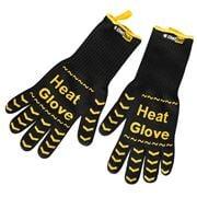 ChefTech - Black & Yellow Heat Gloves 2pce