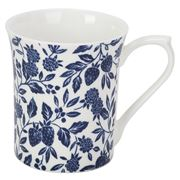 Queens - Blue Story Tiverton White Mug