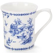 Queens - Blue Story Royal Toile Mug
