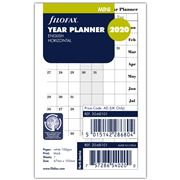 Filofax - Mini Year Planner English 2020