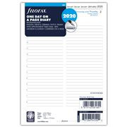 Filofax - A5 Day To A Page w/Appointments 2020 Diary Refill
