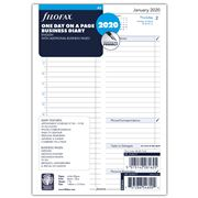 Filofax - A5 One Day On A Page 2020 Business Diary Refill