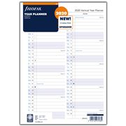 Filofax - A4 English Vertical Year Planner 2020