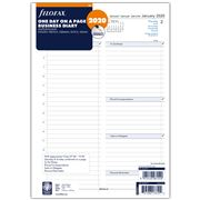 Filofax - A4 One Day On A Page 2020 Business Diary Refill