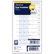 Filofax - Personal Year Planner Horizontal 2021 Diary Refill