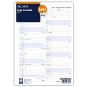 Filofax - A4 English Vertical Year Planner 2021