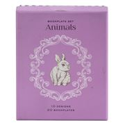 Book - Bookplate Set Animals 20pce
