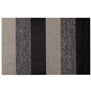 Chilewich - Marble Stripe Shag In/Outdoor Pepper 61x91cm