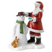 Royal Doulton - Christmas Santa's Snow Buddy 24cm