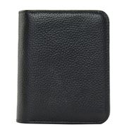 Serenade Leather - Faith Leather RFID Wallet Black Small