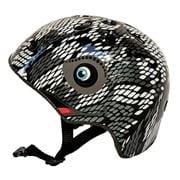 Kidzamo - Chameleon Helmet  Black/Grey Extra Small