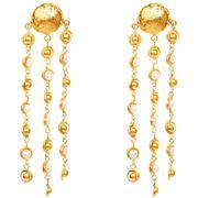 Sylvia Toledano - Rain Drops Clip-On Earrings Pearl & Gold