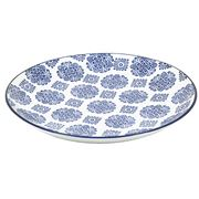 Florabelle - Mandarin Platter Blue and White