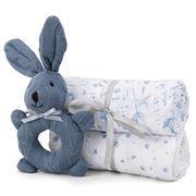 Sheridan - Alodie Summer & Sea Baby Gift Set Sea Blue 3pce