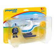 Playmobil - 1.2.3. Police Copter