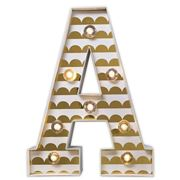 Delight Decor - Little Paper Letter A