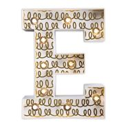 Delight Decor - Little Paper Letter E