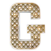 Delight Decor - Little Paper Letter G