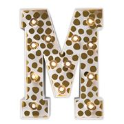 Delight Decor - Little Paper Letter M