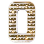 Delight Decor - Little Paper Letter O