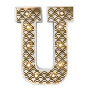 Delight Decor - Little Paper Letter U