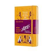 Moleskine - 2020 L.E. Alice In Wonderland Diary Yllw Pocket