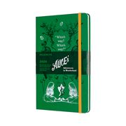 Moleskine - 2020 L.E. Alice In Wonderland Diary Green Large