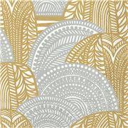 Marimekko - Vuorilaakso Gold & Silver Lunch Napkins 20pce