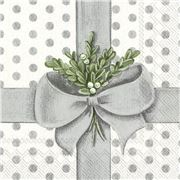 IHR - A Present For You Silver Lunch Napkins 20pce