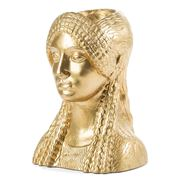 Sophia - Kore Head Vase Gold