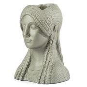 Sophia - Kore Head Vase Metallic Frost