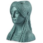 Sophia - Kore Head Vase Metallic Ocean