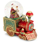 Roman Christmas - Santa Red Train Musick Water Dome