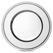 Whitehill -  Silver Glitter Round Tray