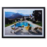 Peter's Slim Aarons Print - Poolside Gossip 59x42cm