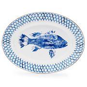 Golden Rabbit - Fish Camp Oval Platter
