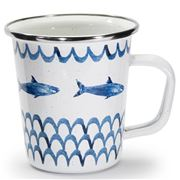 Golden Rabbit - Fish Camp Latte Mug