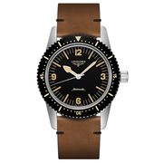 Longines-Heritage Skin Diver Black Dial Automatic Watch 42mm