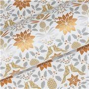 Vandoros - Poinsettia Metallic Gold/Silver/Cop. Wrap. Paper