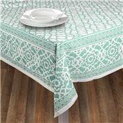 Rans - Vintage Tablecloth Island Paradise Blue 150x300cm