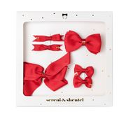 Sereni & Shentel - Bow Treat Box Red 6pce