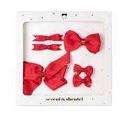 Sereni & Shentel - Bow Treat Box 6pce Red
